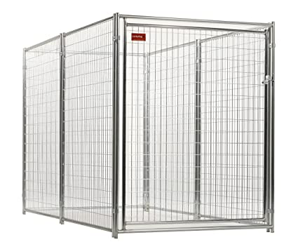 Amazon.com : Dog Kennel - Lucky Dog Modular Box Kennel - This Welded ...