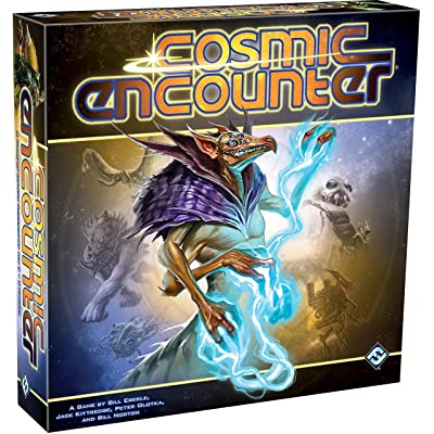 Fantasy Flight Games CE01 Cosmic Encounter, Multicolor - Packaging may vary: Eberle, Bill, Kittredge, Jack, Olotka, Peter, Norton, Bill, Fantasy Flight Games: Toys & Games