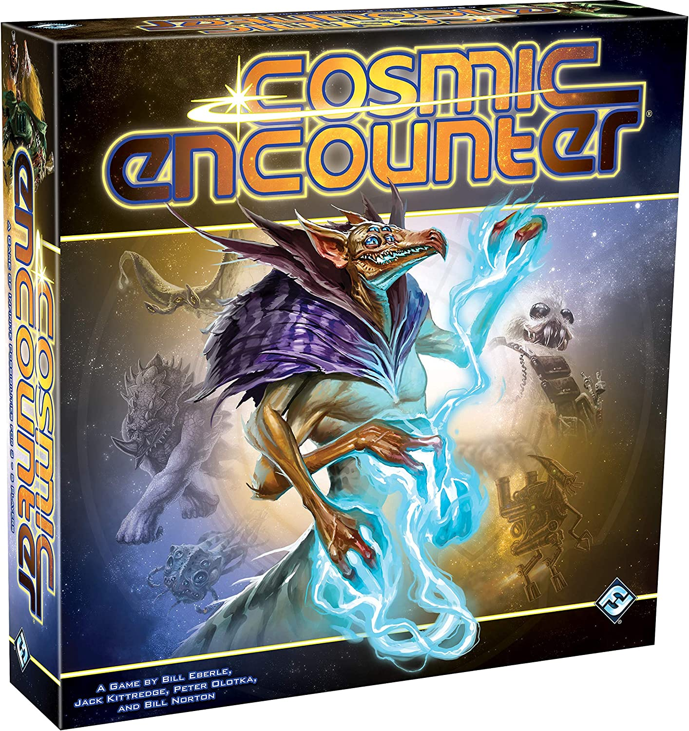Fantasy Flight Games CE01 Cosmic Encounter, Multicolor - Packaging may vary