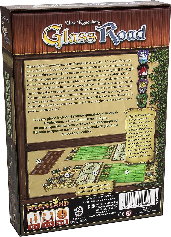 Craneo y Creaciones - Glass Road: aa.vv.: Amazon.es: Juguetes y juegos