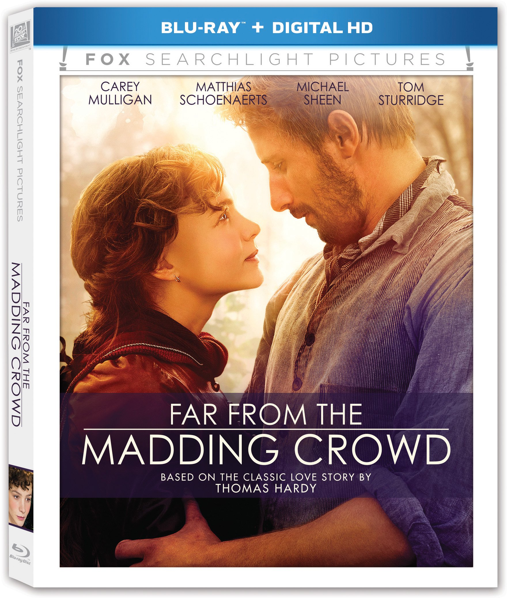 Blu-ray : Far From the Madding Crowd (Digitally Mastered in HD, Dubbed, , Widescreen, Digital Theater System)