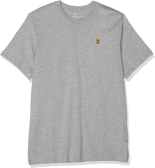 NIKE M Nkct Court Emb tee - Camiseta de Manga Corta Hombre: Amazon ...