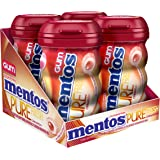 Mentos Gum Sugar Free, Pure Fresh Cinnamon, 50 Piece (Pack Of 4)