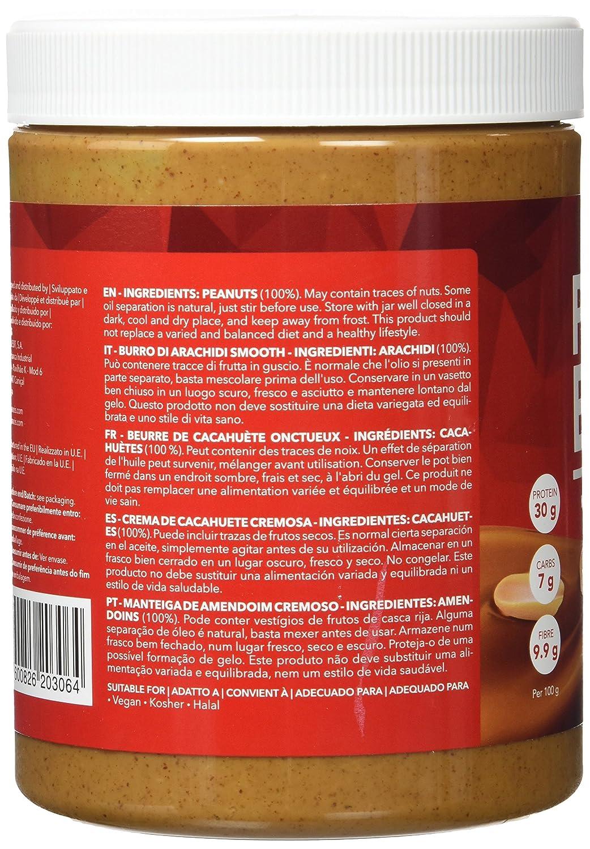 Prozis Sport Crema de Cacahuete, Sabor Cremoso - 1000 gramos - [pack de 2]