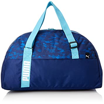 Puma Core Active Sports, Sac de gym unisexe, adulte mixte, Core Active Sports, Blu Scuro/Turchese/Grafico