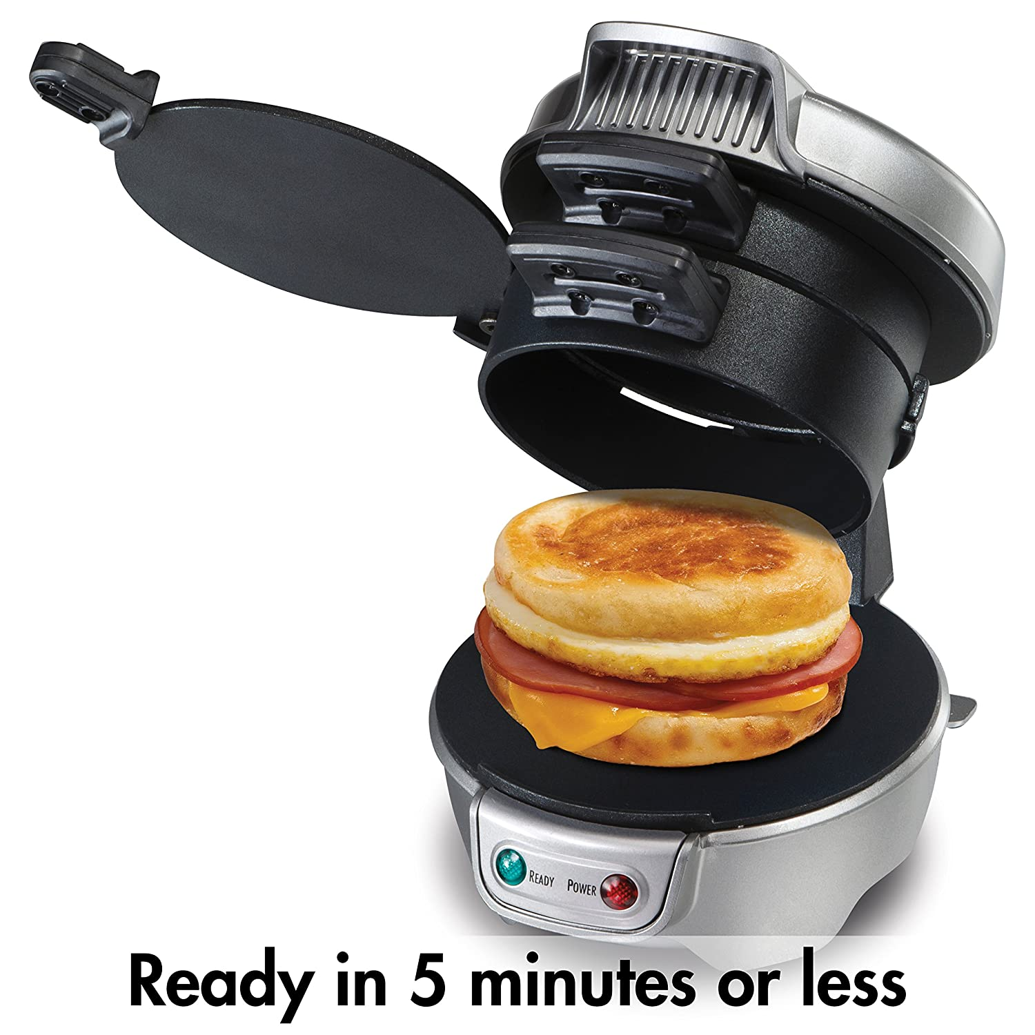 MAKE YOUR OWN BREAKFAST SANDWICH WITH #1 BEST SELLING SANDWICH MAKER!