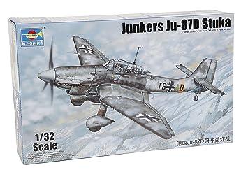 Trumpeter 03217 - Maqueta Junkers Ju 87d Stuka: Amazon.es ...