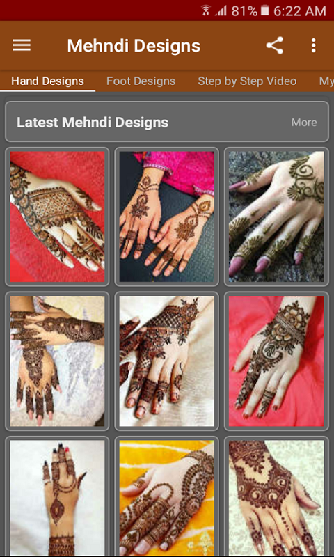 Amazon Com Latest Mehndi Designs 2018 Appstore For Android