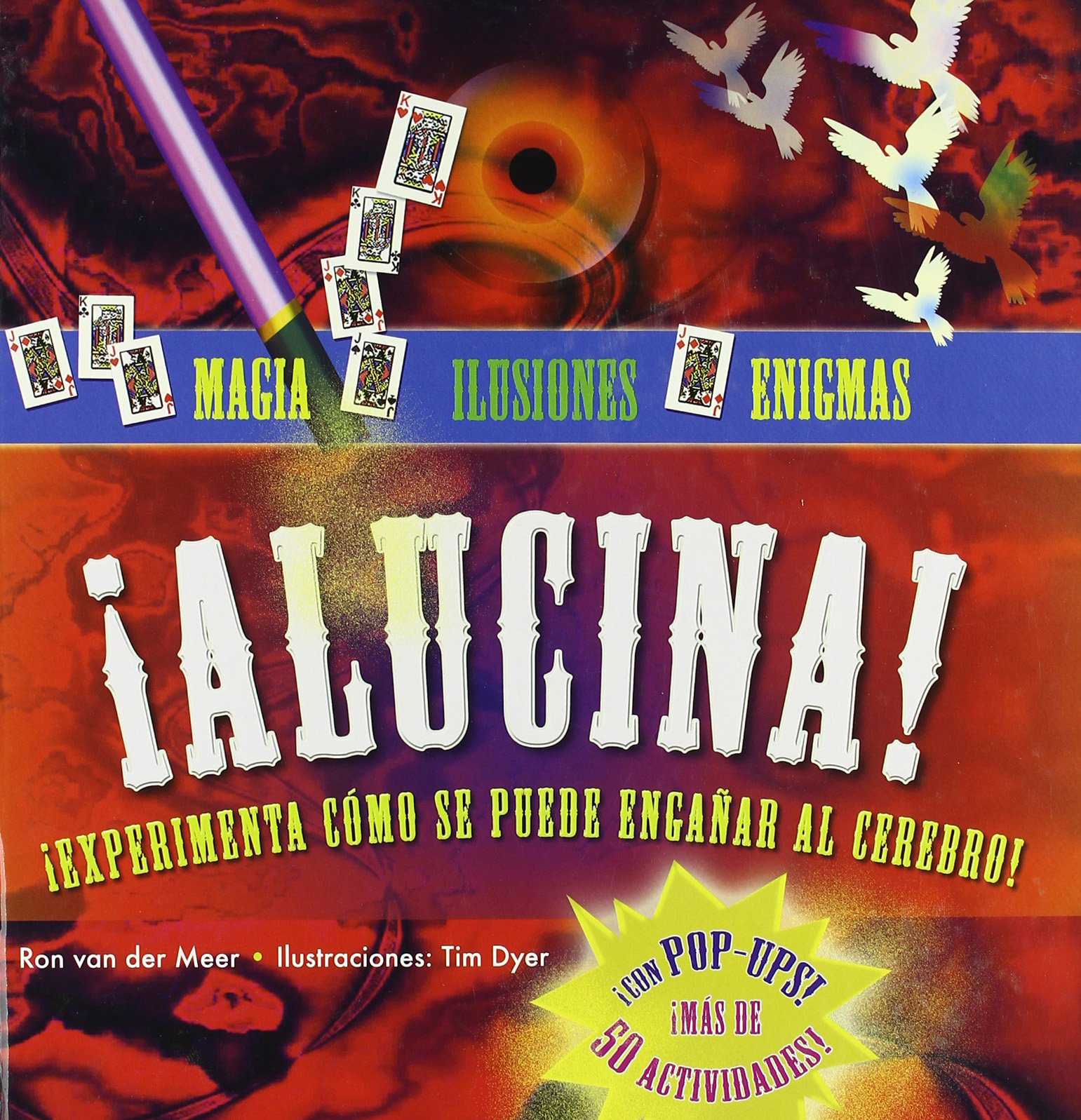 ¡Alucina! Magia, ilusiones y enigmas Infantil Y Juvenil: Amazon ...