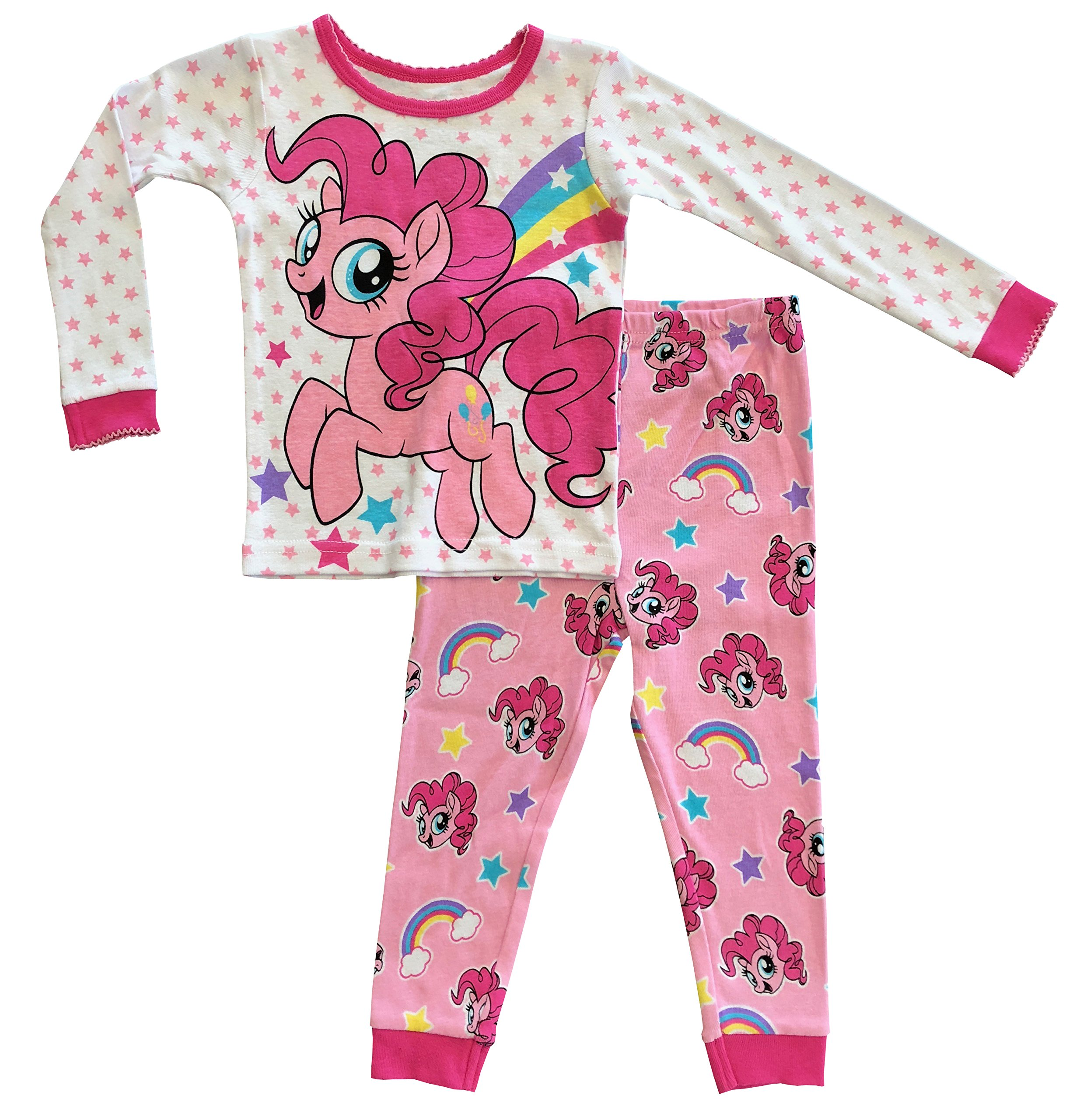 My Little Pony The Movie Toddler Girls Cotton Tight Fit Pajamas (2T)