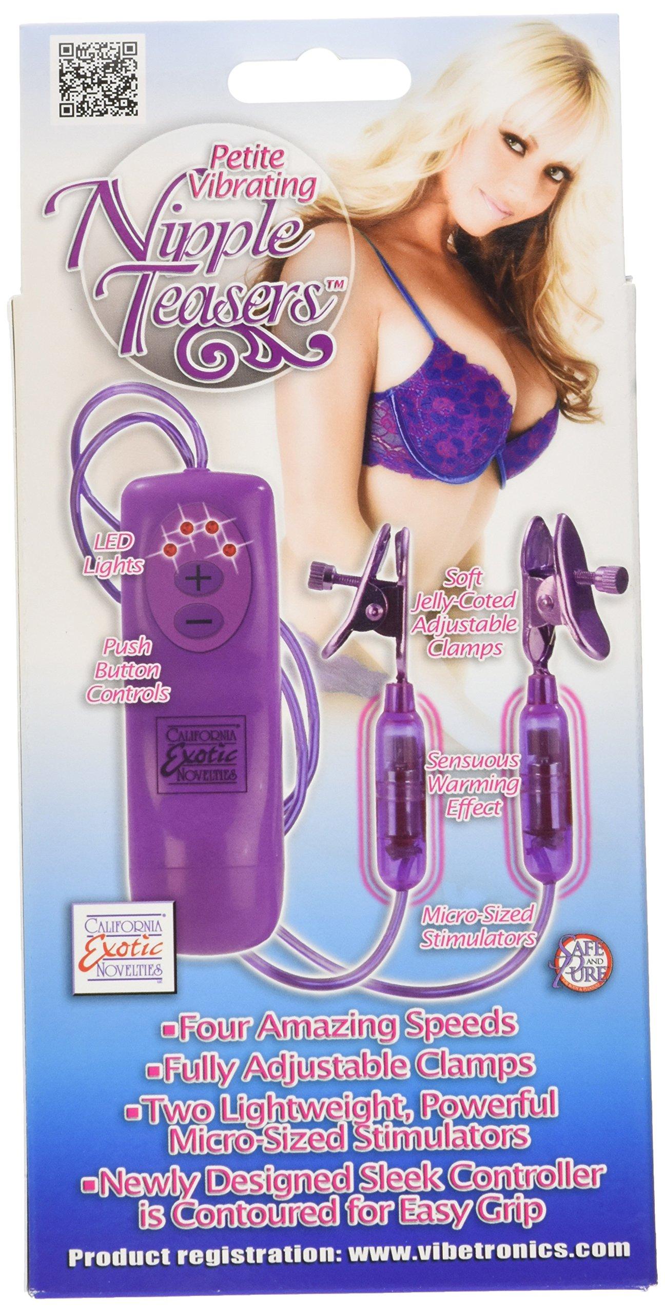 California Exotic Novelties Petite Vibrating Nipple Teasers