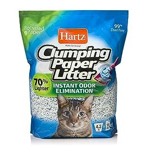 HARTZ Multi-Cat Clumping Paper Cat Litter