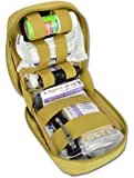 Lightning X Trauma & Bleeding Control Individual First Aid Kit w/ Tactical MOLLE IFAK Pouch