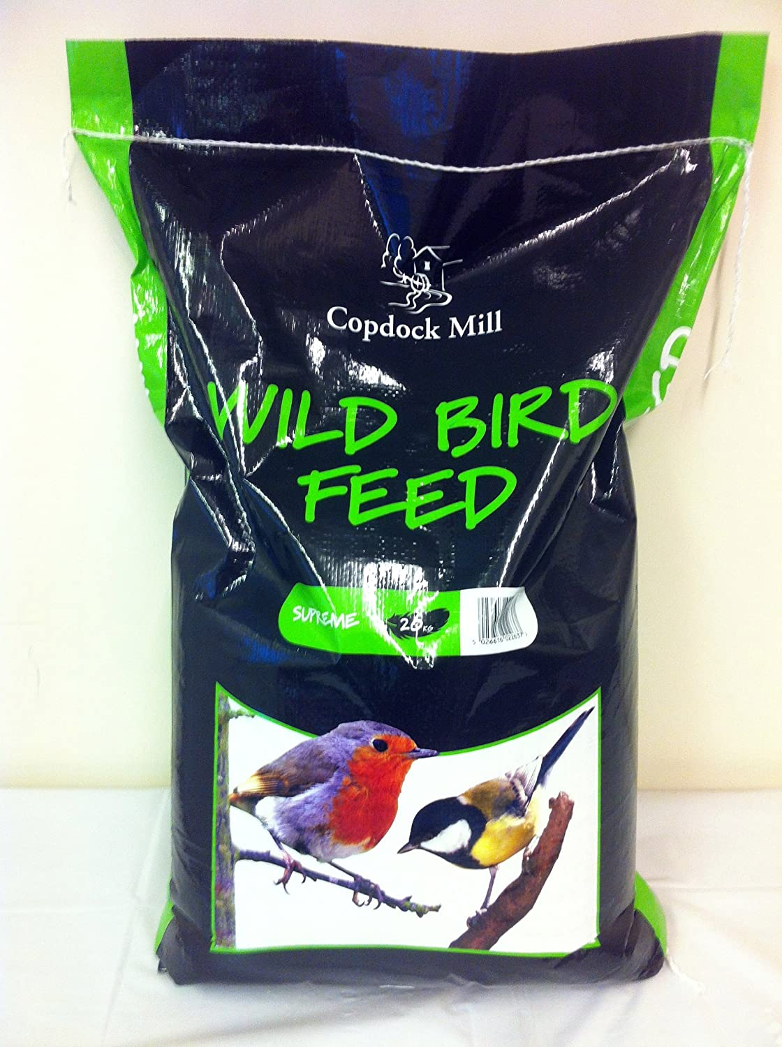 20KG WILD BIRD SEED PREMIUM QUALITY FOOD MIX. GARDEN OUTDOOR FEEDERS TABLE BOX Copdock Mill
