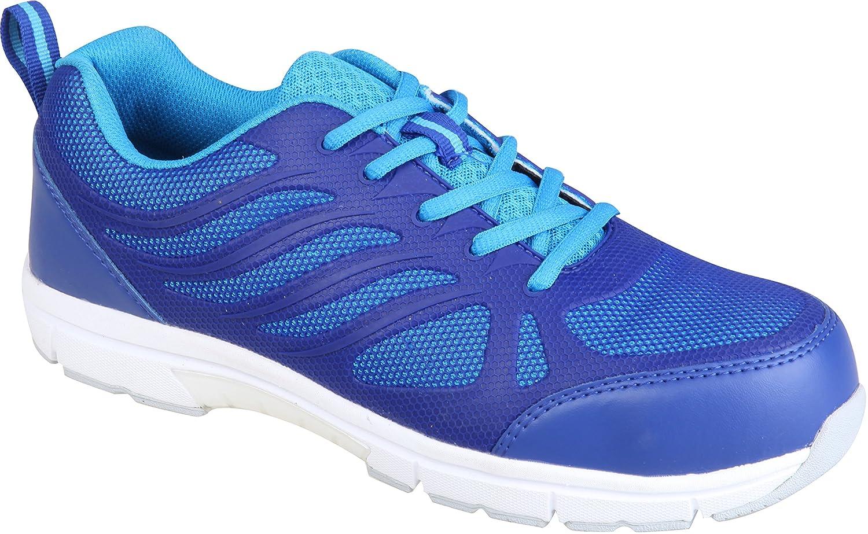 Honeywell SHST00403 Safety Shoe lightweight sporty, Dark and Light Blue, UK  Size 6