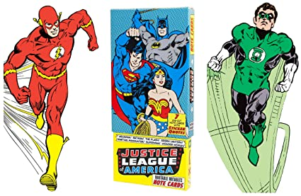 Amazon justice league of america greeting card boxed set die justice league of america greeting card boxed set die cut silhouette cards of aquaman m4hsunfo