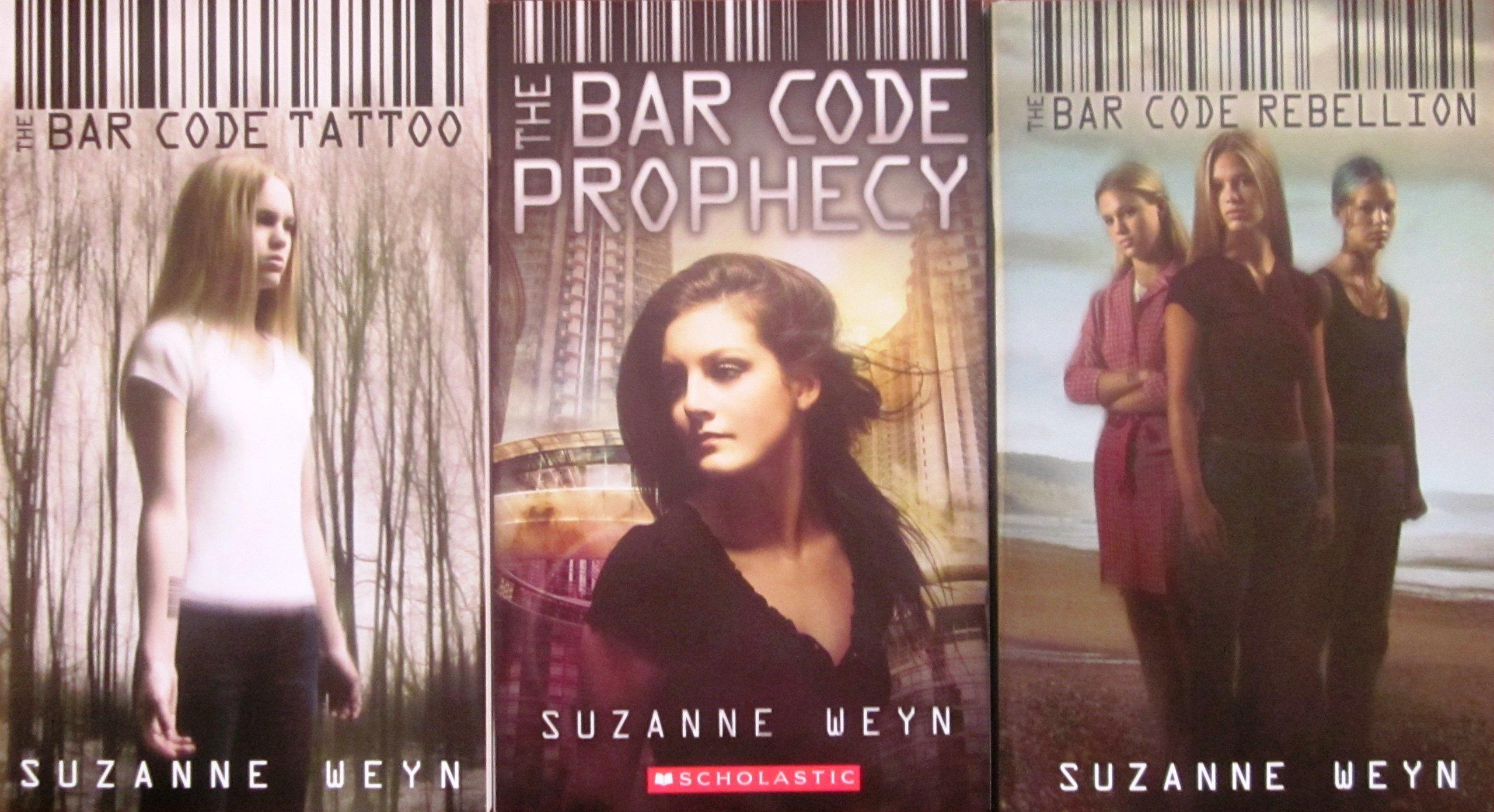 The Bar Code Tattoo The Bar Code Prophecy The Bar Code Rebellion  Amazon Com Books