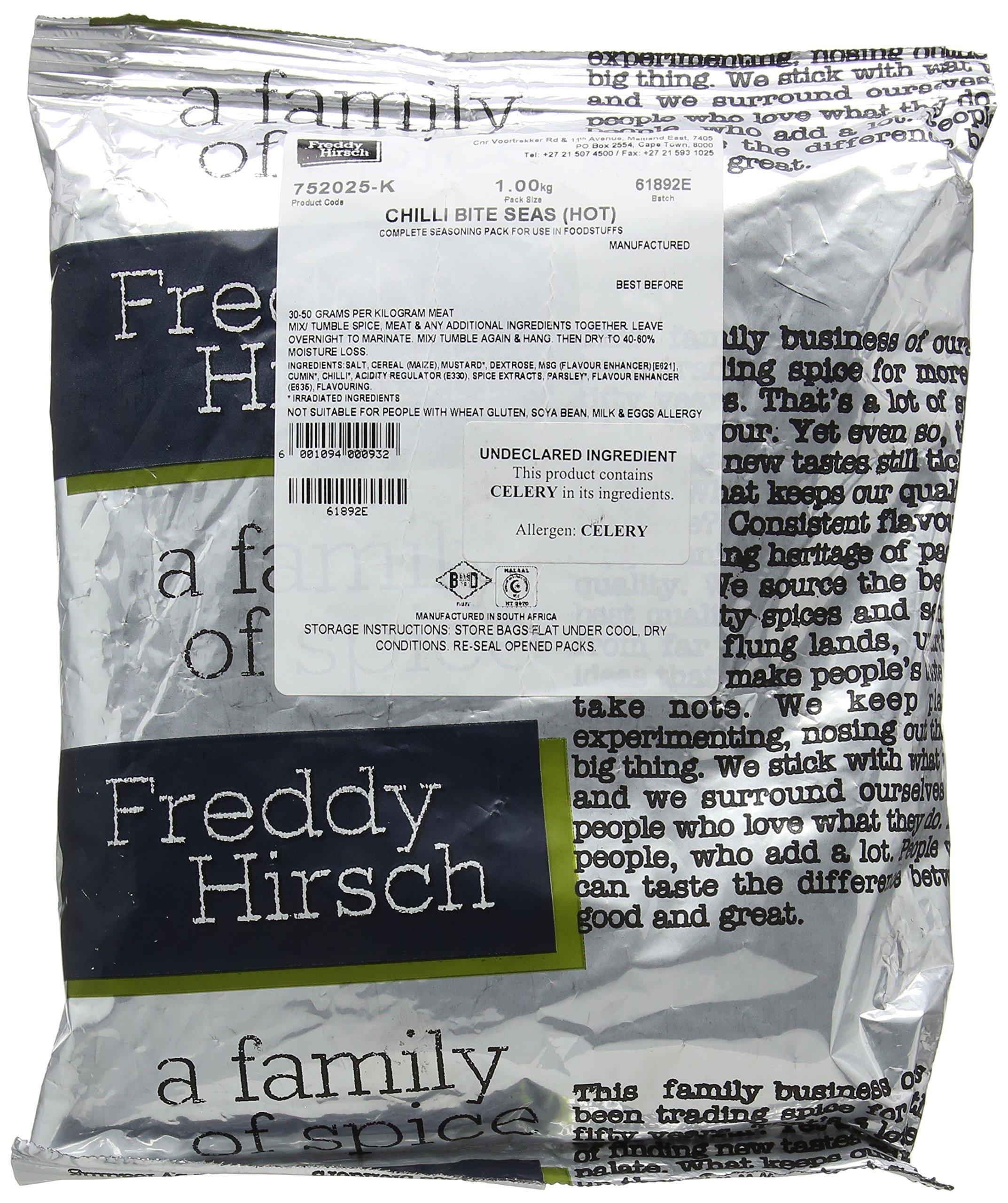 Freddy Hirsch Chilli Bite Hot Seasoning 1 kg