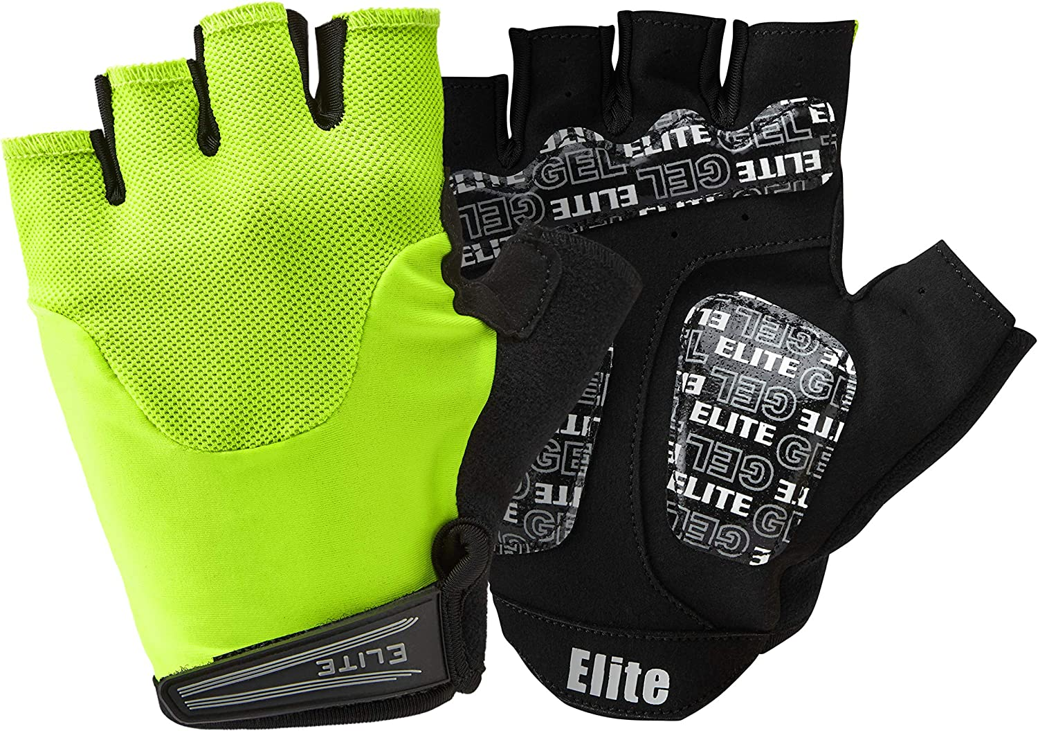 Hola Vis Elite Cycling Project Endurance Guantes de Ciclismo Medium Hombre