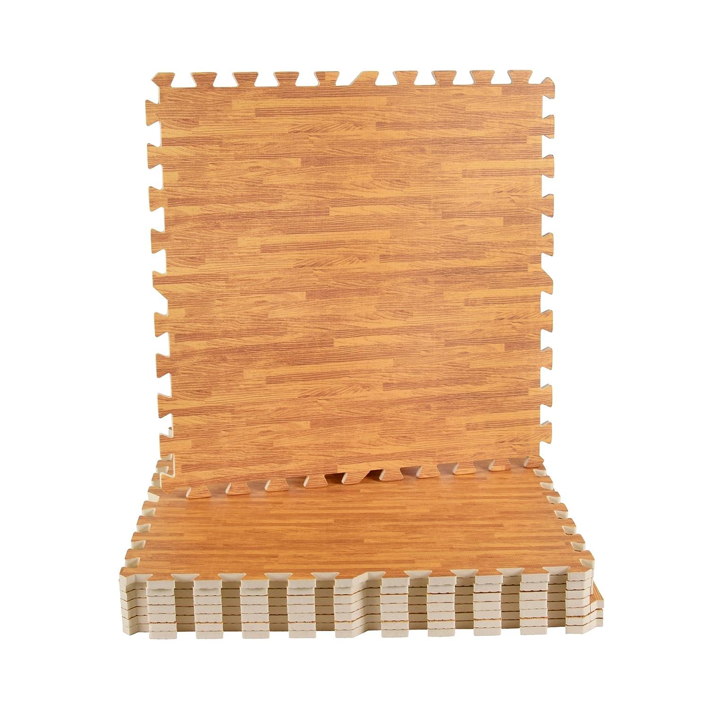 MSPORTS Bodenschutzmatten Set Premium Puzzlematten Gymnastikmatte Bodenschutz 60x60 cm St/ärke: 1,0 cm 8 Schutzmatten in verschiedenen Farben 3,175m/² Blau Puzzlematten Gymnastikmatte 0 cm MST GmbH