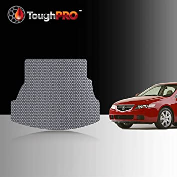 Amazon Com Toughpro Cargo Trunk Mat Accessories Compatible With Acura Tsx All Weather Heavy Duty Made In Usa Gray Rubber 2004 2005 2006 2007 2008 Automotive