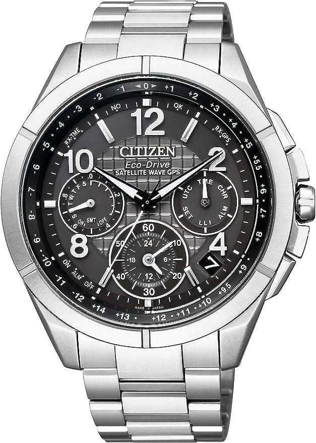[シチズン] 腕時計 アテッサ CC9070-56H F900 エコ・ドライブGPS衛星電波時計 限定モデル「フローズングレー」限定900本 メンズ