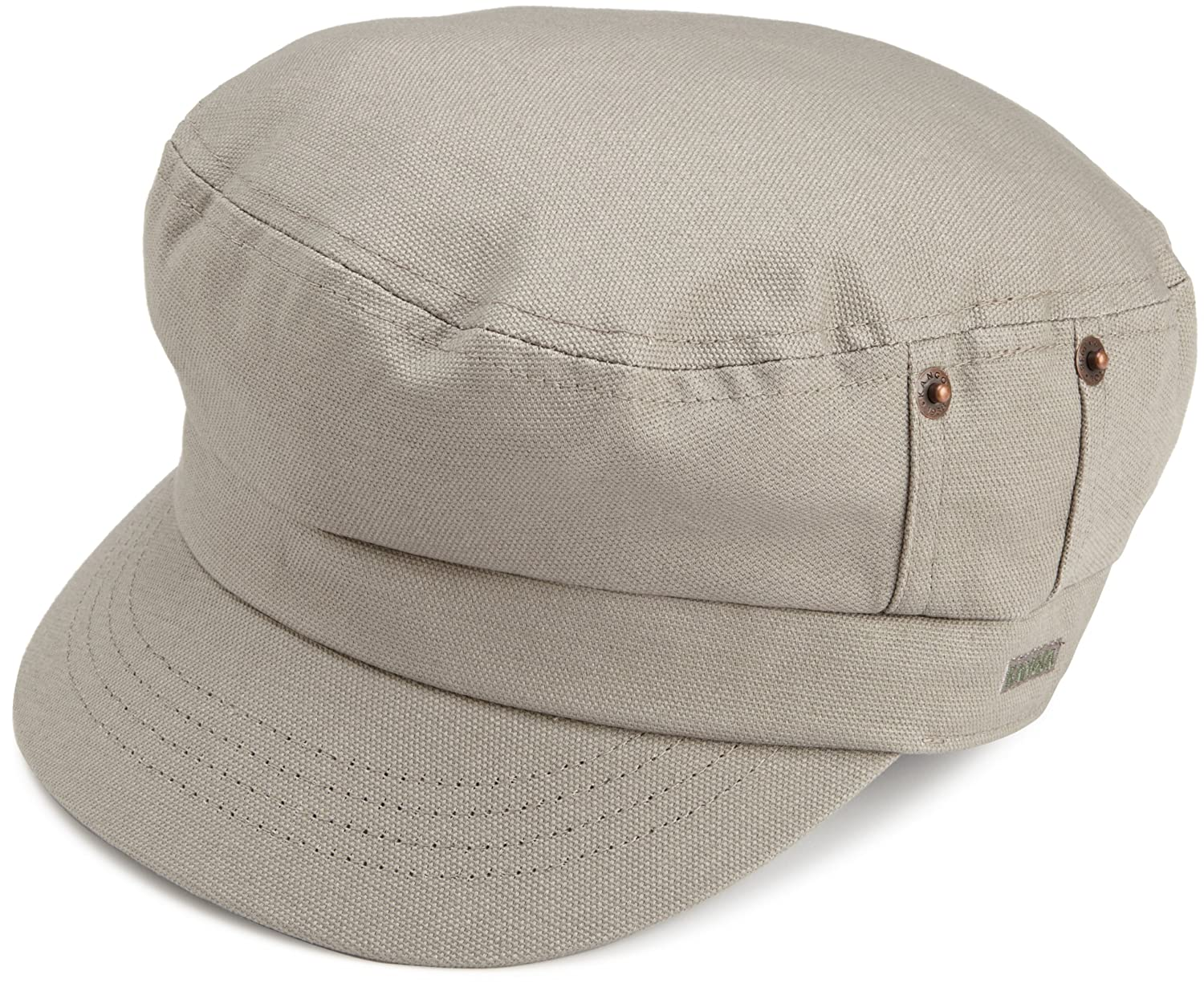 dc471143ca7e0b Kangol Men's Canvas Fisherman Cap, Putty, Small at Amazon Men's Clothing  store: Newsboy Caps