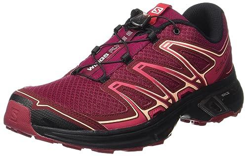 Wings Flyte 2 W, Zapatillas de Trail Running para Mujer, Rojo (Beet Red/Cabernet/Black 000), 40 EU Salomon