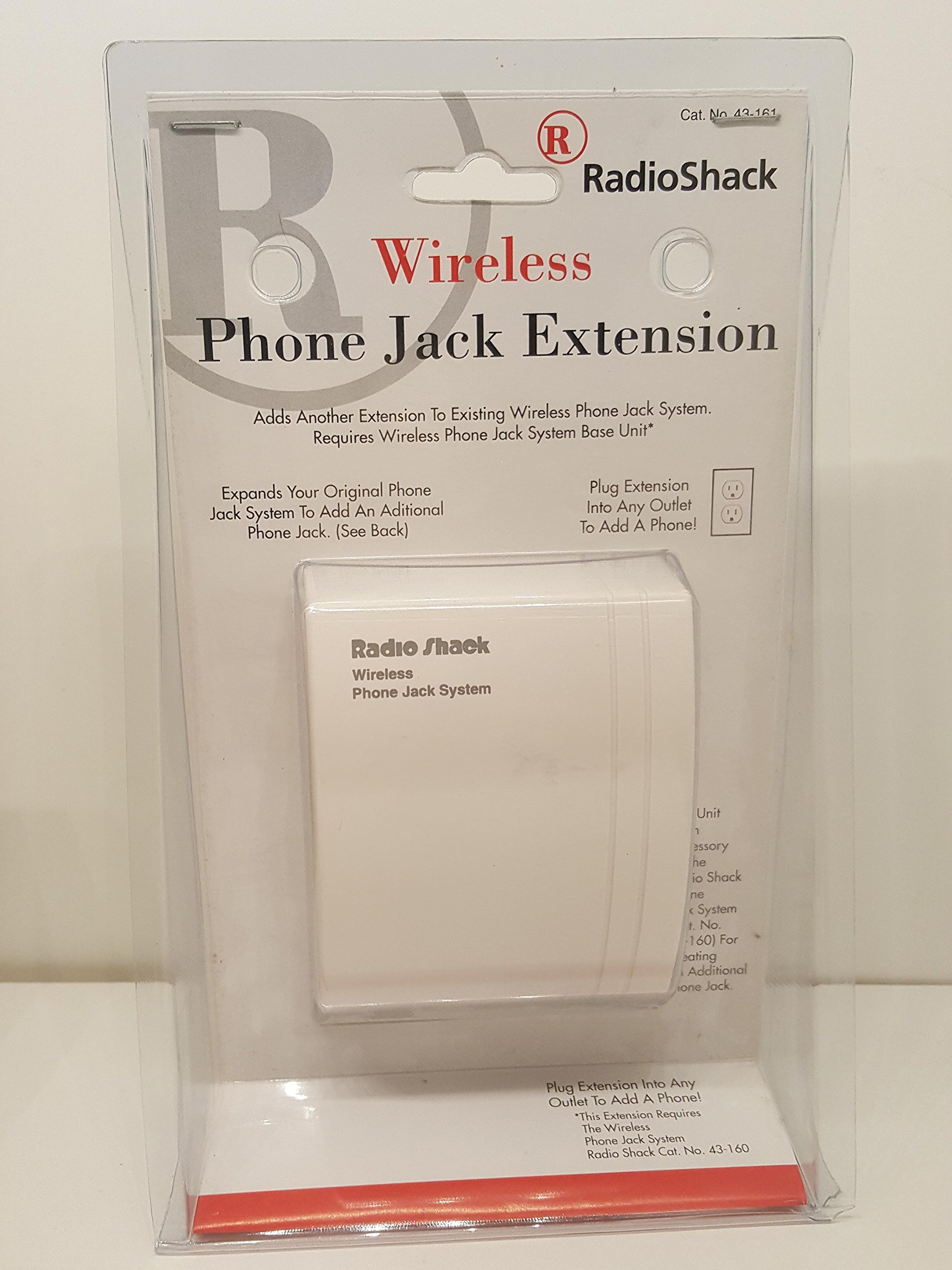 Radio Shack Wireless Phone Jack Extension