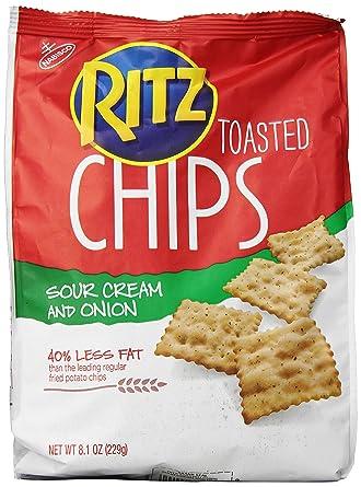 Ritz Crackers - Bolsa de cebolla y crema tostadas de color ...