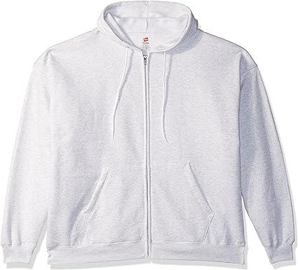 1 Light Steel Hanes Mens EcoSmart Hooded Sweatshirt XL 1 Deep Red
