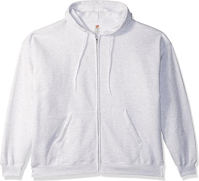 Hanes Men's Full-Zip Eco-Smart Fleece Hoodie   Amazon