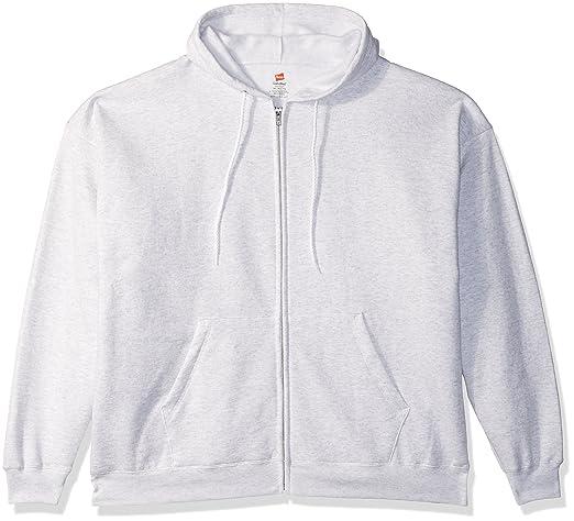 de918d1a761c Amazon.com  Hanes Men s Full-Zip EcoSmart Fleece Hoodie  Clothing