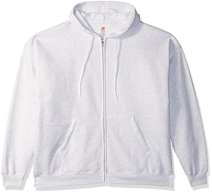 03db6f45a4 Amazon.com  Hanes Men s Full-Zip EcoSmart Fleece Hoodie  Clothing