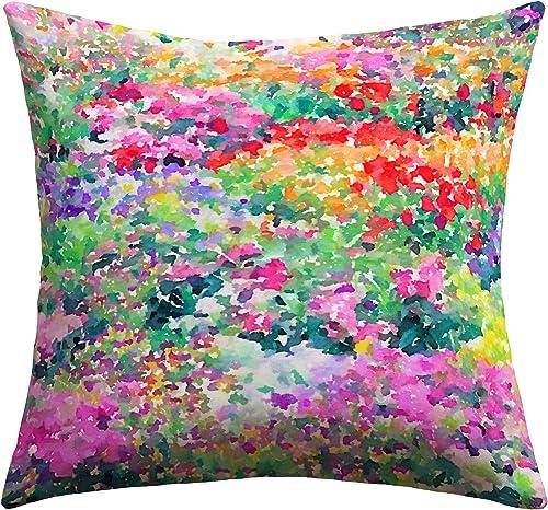 Deny Designs Jacqueline Maldonado Secret Garden 1 Outdoor Throw Pillow