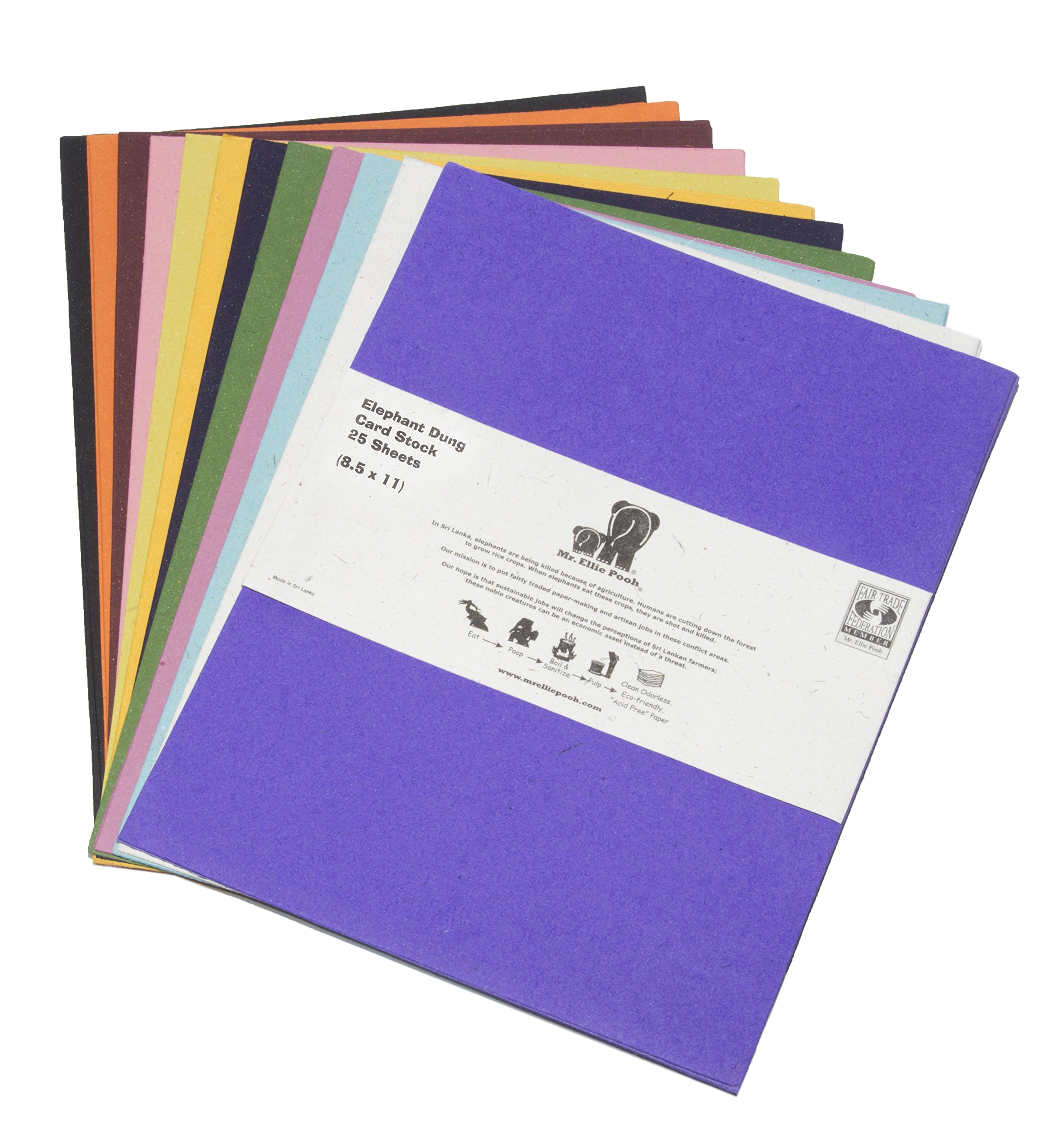 Mr. Ellie Pooh Elephant Dung Card Stock Variety Pack (314-852668978524)