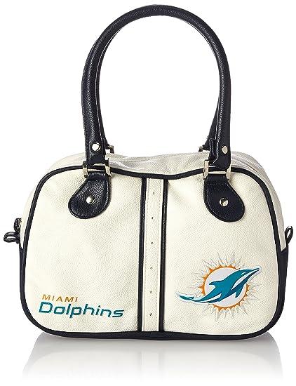 Amazon.com: NFL Miami Dolphins Ethel Bolso de guijarros ...