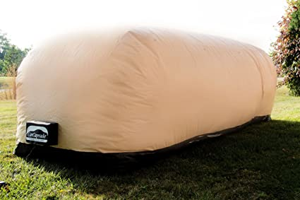 Outdoor Car Storage >> Amazon Com Carcapsule Cco18 Tan 18 Inflatable Outdoor Car Cover