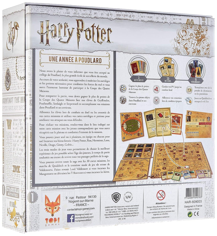 Topi-Games-Harry-Potter-Une-Annee-a-Poudlard-HAR-609001 miniature 2