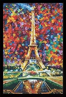 product image for Frame USA Paris of My Dreams by LEONID AFREMOV Poster (Black Affordable Medium Frame)(24x36)