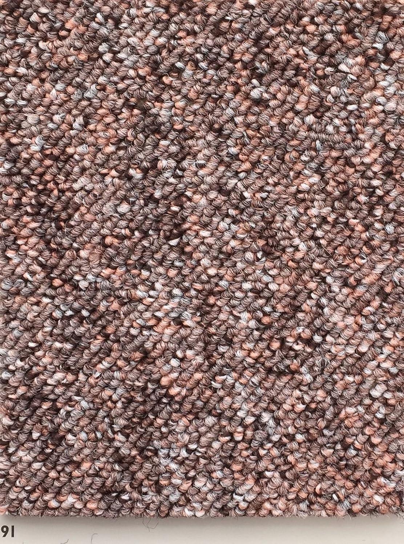 Schlingen Teppich in der Farbe lachs erhältlich   Teppichboden verfügbar in der Breite 400cm & in der Länge 300cm   Bodenbelag wird als Meterware geliefert   Belastungsklasse (BK22)