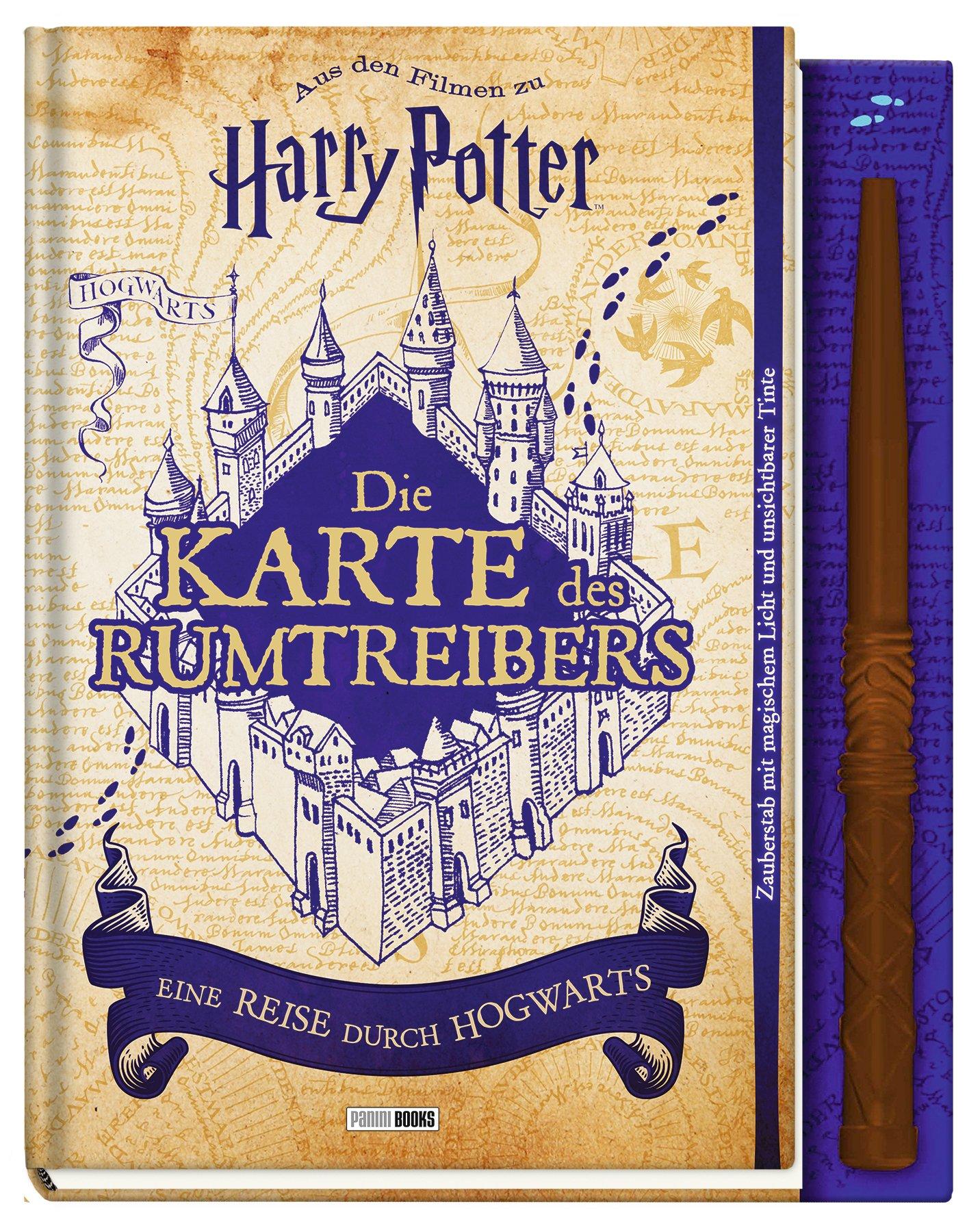 Aus Den Filmen Zu Harry Potter Die Karte Des Rumtreibers Eine
