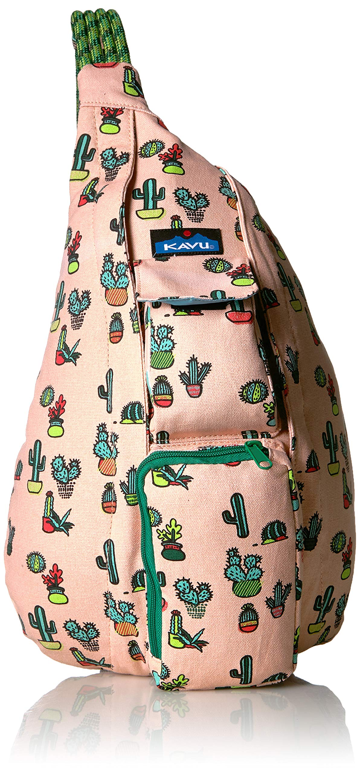 KAVU Women's Rope Bag, Prickle Perfect, No Size