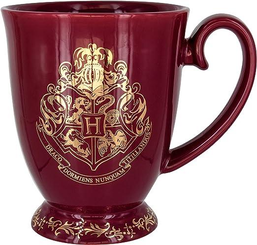 Amazon.com: Paladone Harry Potter Hogwarts - Taza de café ...