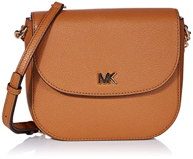 2c5f142fb5e6 Michael Kors Mott Crossbody Bag- Acorn: Handbags: Amazon.com