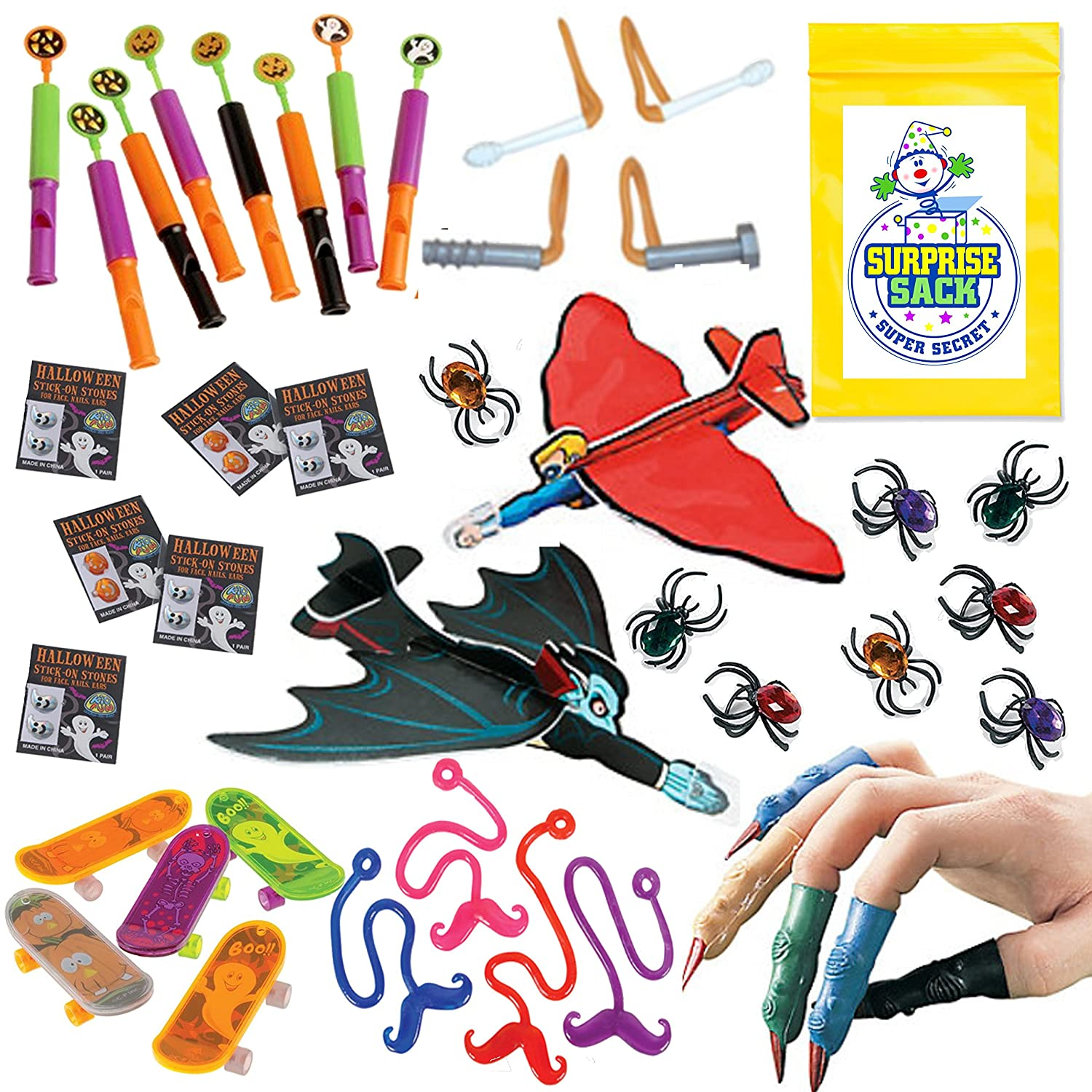 Halloween Party Favors Toy Assortment - 72 Pc‏