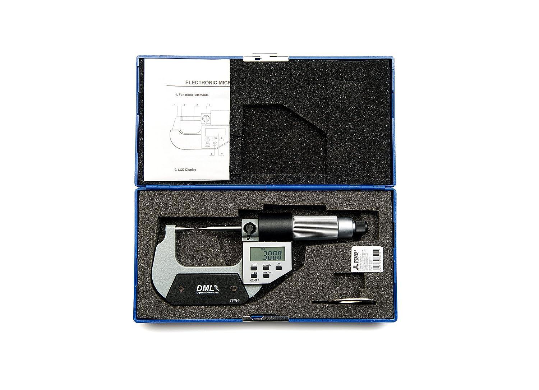 Dml 0/ /25/mm IP54/digitale punto micrometro 12/mesi di garanzia