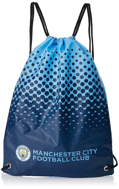 FC Manchester City 2416 - Bolsa con cordón para niños,, Talla única Forever