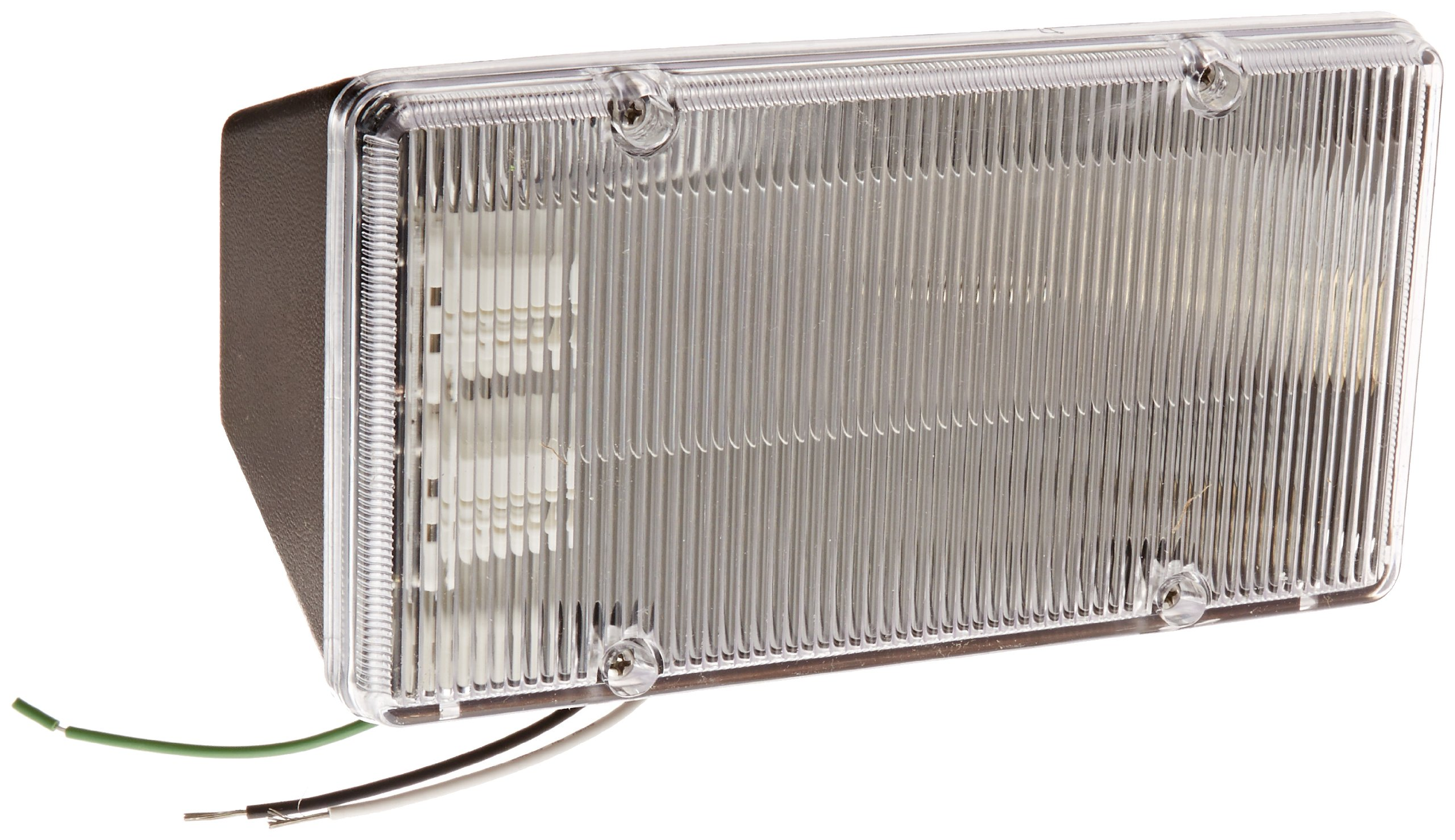 RAB Lighting PLF26 CFL PLF Fluorescent Floodlight, 13W Twin Type, Polycarbonate, 26W Power, 1800 Lumens, 208V, Bronze Color