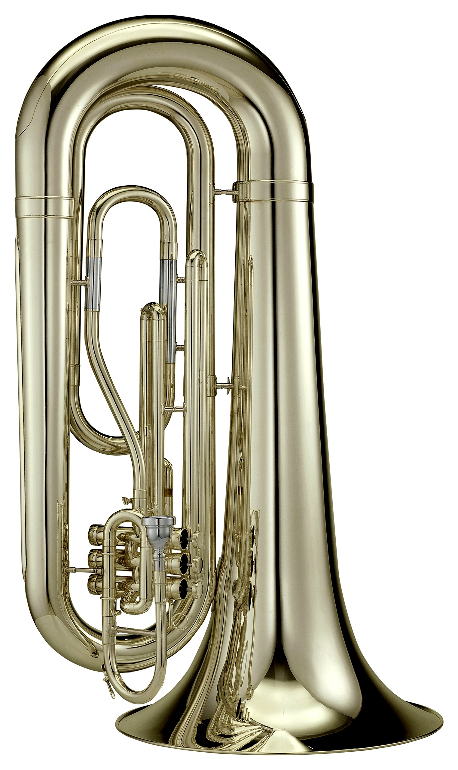 Adams MTB2 Marching Tuba 4/4 with ABS Case, Lag